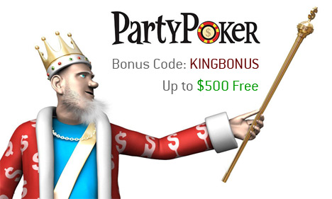 PartyPoker Bonus Code - Up to $500 Free