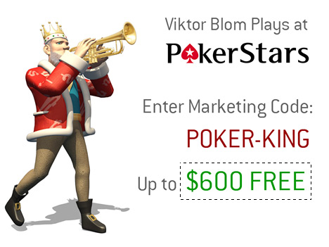 Viktor Blom Plays at Pokerstars