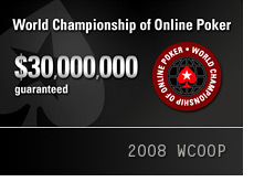 pokerstars world championship of online poker - 2008 - wcoop