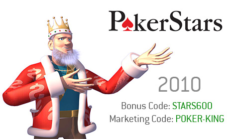 bonuscode pokerstars casino