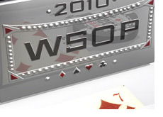 World Series of Poker bracelet - 3d art