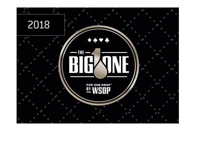 The World Series of Poker - 2018 - The Big One for One Drop - Tournament logo.