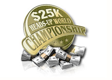 full tilt poker - 25k heads-up world championship turnament - logo