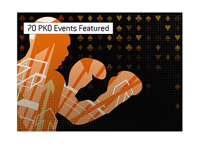 Progressive knockout focused online poker tournament is coming up in September.