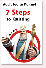 King's 7 steps to quitting online poker