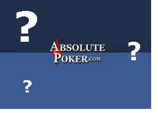 logo - absolute poker - question
