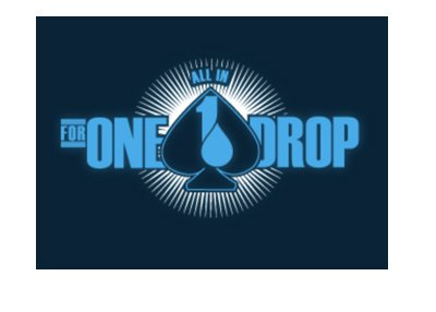 All in For One Drop - Poker tournament - 2017 edition of the logo.