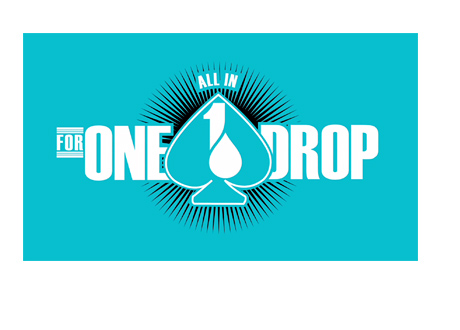 The Big One for One Drop - All In - WSOP Tournament Logo - Light Blue