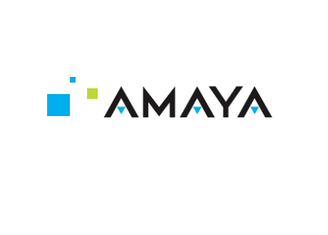 Amaya Gaming - Company Logo - Blue and Black Color