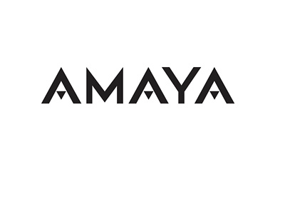 Amaya - Gaming industry - Company logo - 2016 - Black and white
