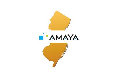 Amaya - New Jersey report - Map and logo composite