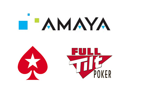 Amaya Gaming Group - Pokerstars and Full Tilt Poker - Logos