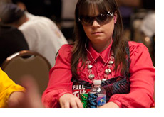 Photo update - Annette Obrestad at the 2010 WSOP