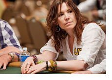Annie Duke at the WSOP 2010