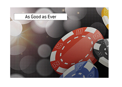 The legendary poker player returns to the scene as good as ever.