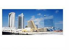 Atlantic City, New Jersey - Sunny Day