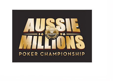 The Aussie Millions 2014 Logo - Square Shape