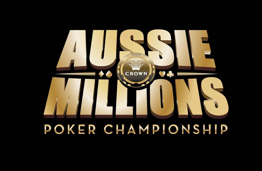 --Large logo - Aussie Millions --