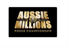 Aussie Millions logo with rounded edges