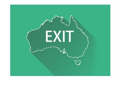 Australia Exits the online poker world.