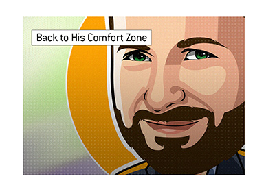 Daneil Negreanu - Back to his comfort zone.