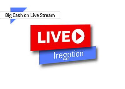 Big Cash win on live stream - Iregption - Poker player.
