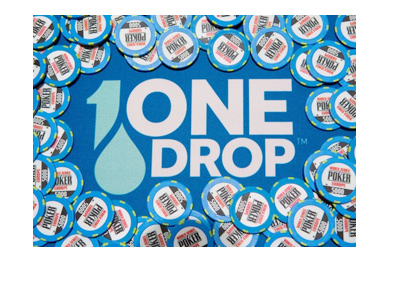 The Big One for One Drop poker tournament - 2017 edition - Promo graphic.