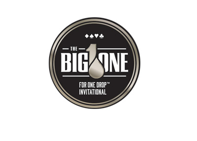 The BIG ONE for One Drop Invitational - Poker Tournament - Logo - 2016 edition