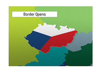 The Czech border has opened and the popular casino is getting more action.