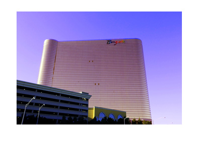Borgata Hotel and Spa - New Jersey - Photo - Purple hue effect.