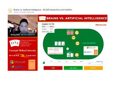 Brains vs. AI - Year 2015 - Play screenshot