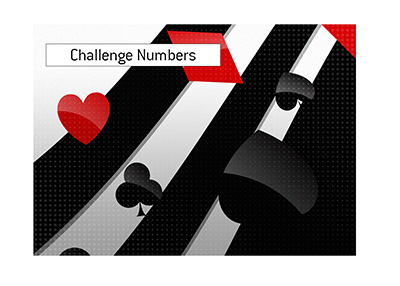 Here is the latest update on the popular Challenge numbers.