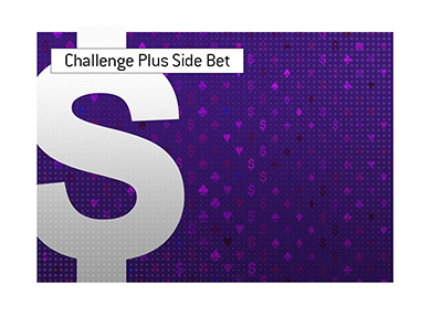 A new challenge is underway in the poker world.  This time live and with a side bet.