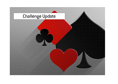 The update for the popular challenge is presented.  The match is evening out.