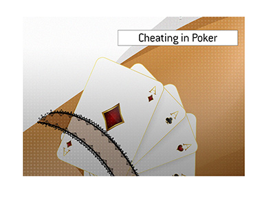 The King goes over the popular cheating strategy that one has to look out for while playing poker online and off.