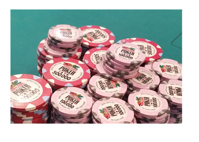 Cliff Josephy chip stack at the World Series of Poker 2016 - Main Event