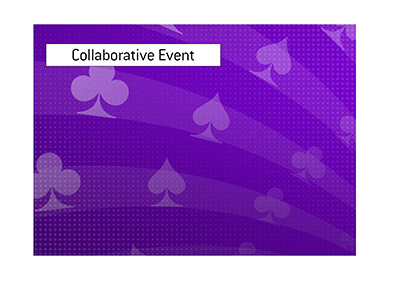 A tournament is a product of collaboration between two companies that have a history of working together.
