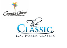 -- Commerce Casino logo - L.A. Poker Classic logo --
