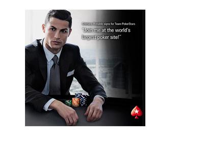 Cristiano Ronaldo Joins Pokerstars - May 2015