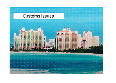 Customs were the main reason the popular tournament in the Bahamas had to shut its doors.