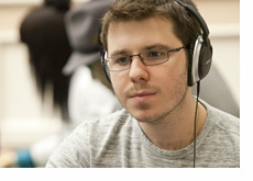 Dan Smith rocking headphones