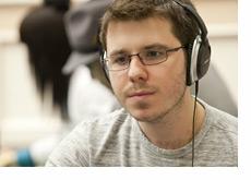Dan Smith rocking headphones