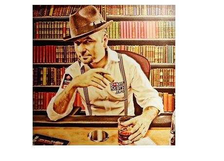 Daniel Negreanu - Staged Old School Pokerstars Photo