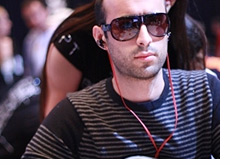 Daniel Alaei at the European Poker Tour