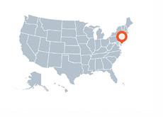 Delaware - US Map