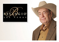 five diamond world poker classic - doyle brunson and the bellagio hotel logo