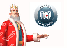 poker king is wondering about the durrrr challenge
