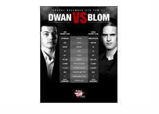 Dwan vs. Blom - December 9th - Poster