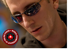 bertrand grospellier elky at the world championship of online poker - wcoop at pokerstars