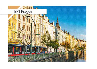 European Poker Tour latest event is taking place in the city of Prague.  Parker Talbot has made the final table.